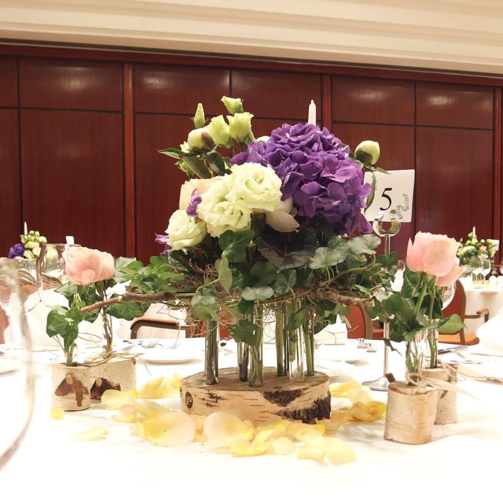 Flori pentru nunta la Crowne Plaza