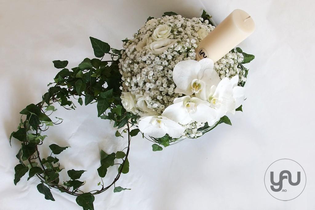 yauconcept_yau flori_yau flowers_lumanare de botez alba flori albe