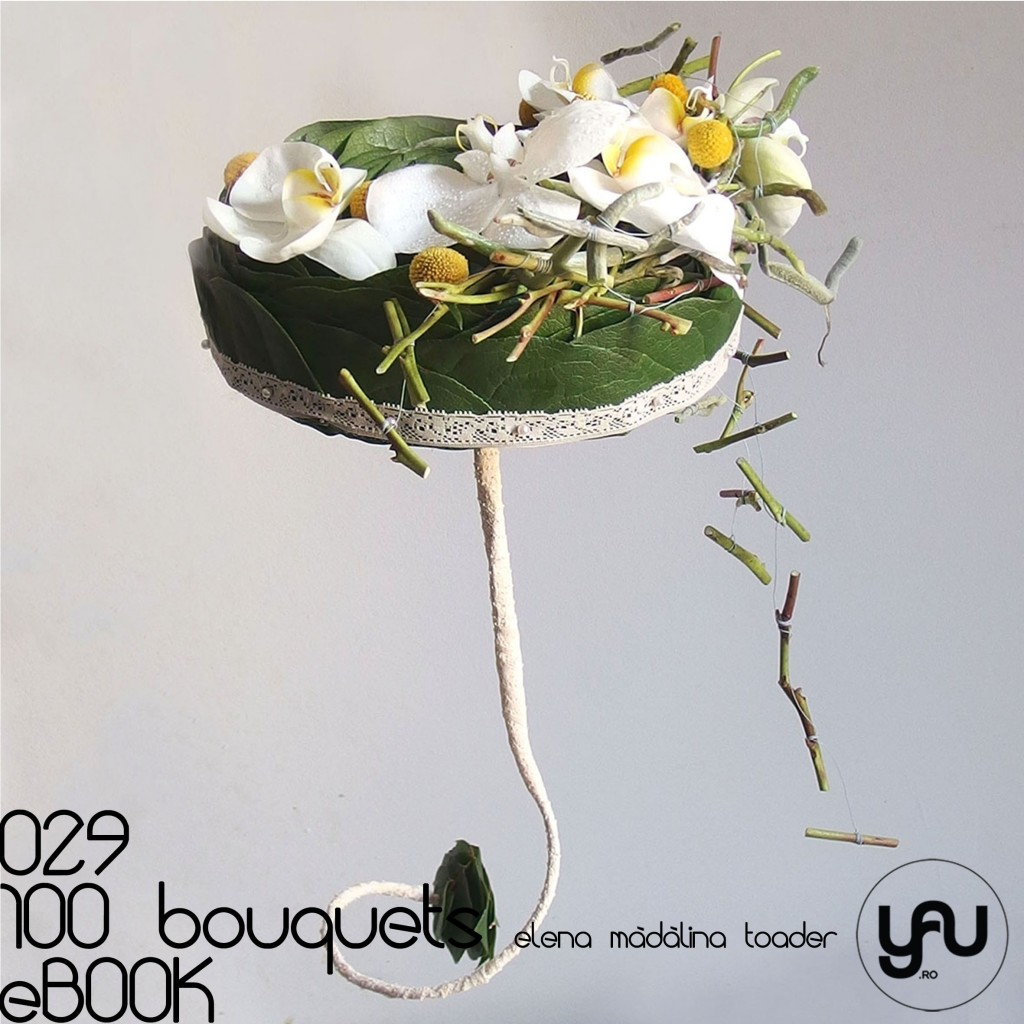 ORHIDEE ALBE #100bouquets #ebook #yauconcept #elenamadalinatoader