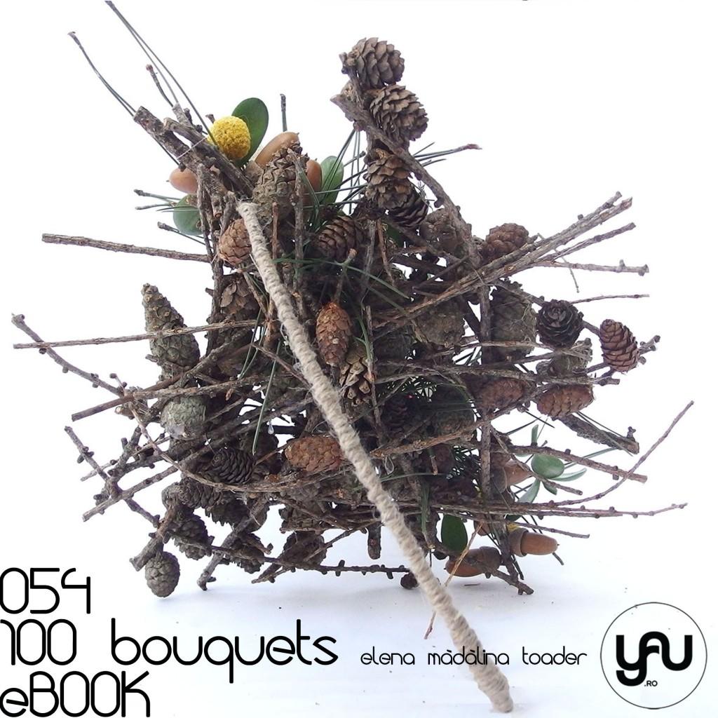 CONURI DE BRAD #100bouquets #ebook #yauconcept #elenamadalinatoader
