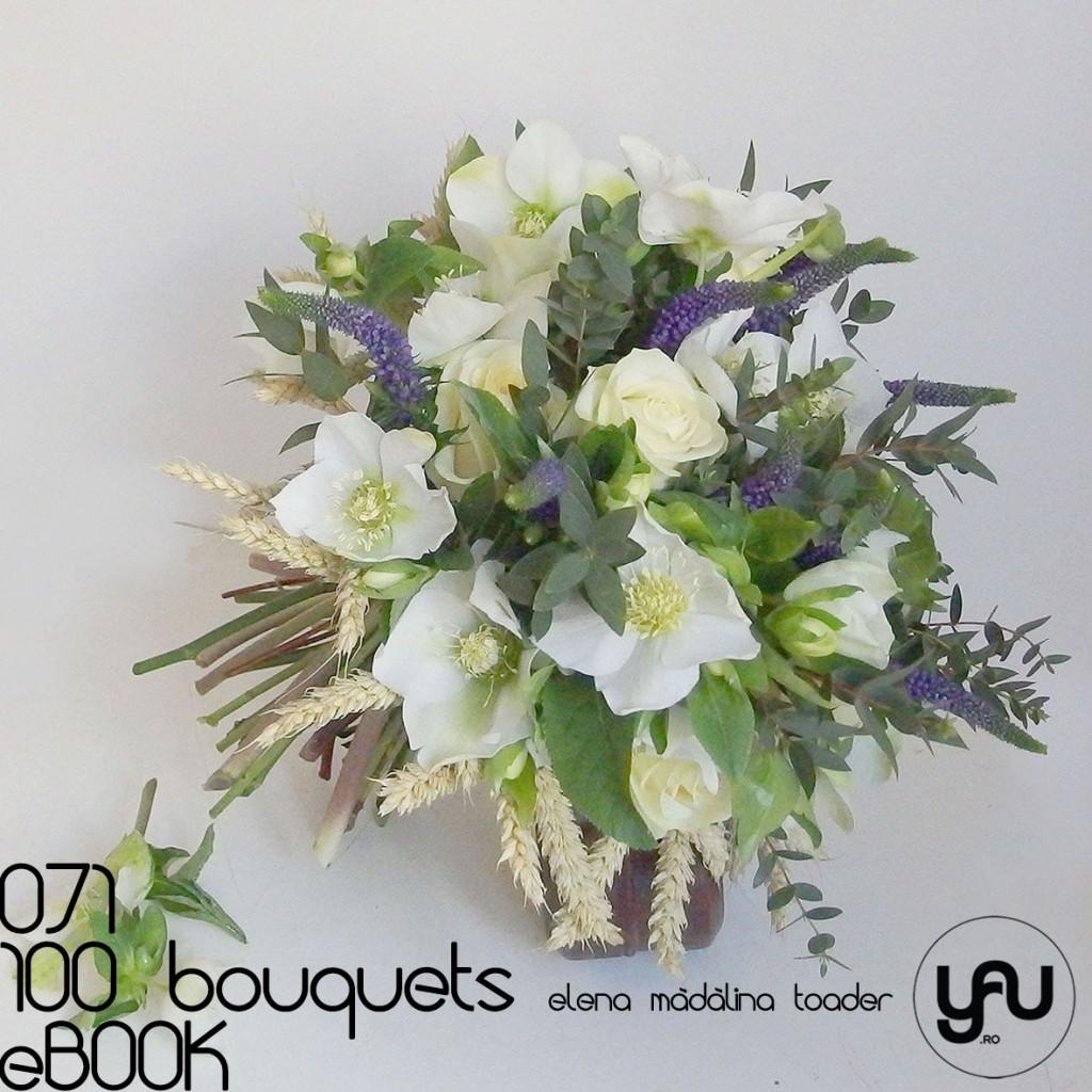 Helleborus trandafiri si veronica #100bouquets #ebook #yauconcept #elenamadalinatoader