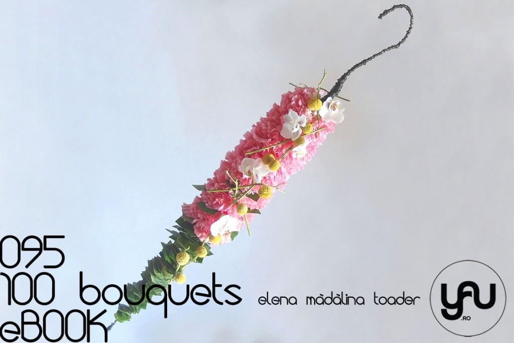 Buchet cu GAROAFE, Orhidee si Craspedia #100bouquets #ebook #yauconcept #elenamadalinatoader