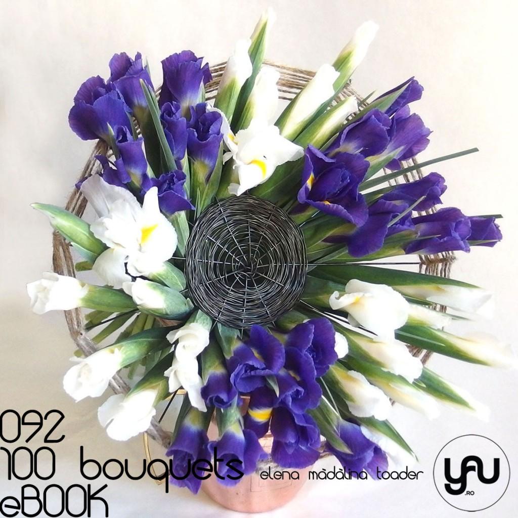 Buchet cu IRISI #100bouquets #ebook #yauconcept #elenamadalinatoader