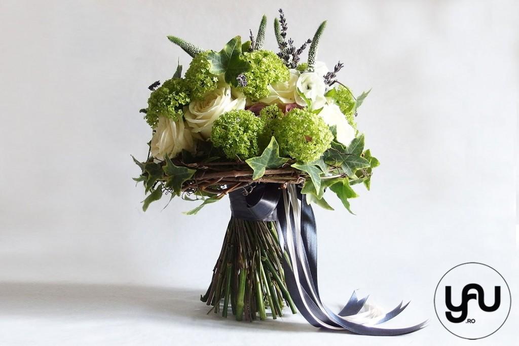 Buchet mireasa primavara_yauconcept_elena toader_buchet cu ranunculus, viburnum si trandafiri (1)