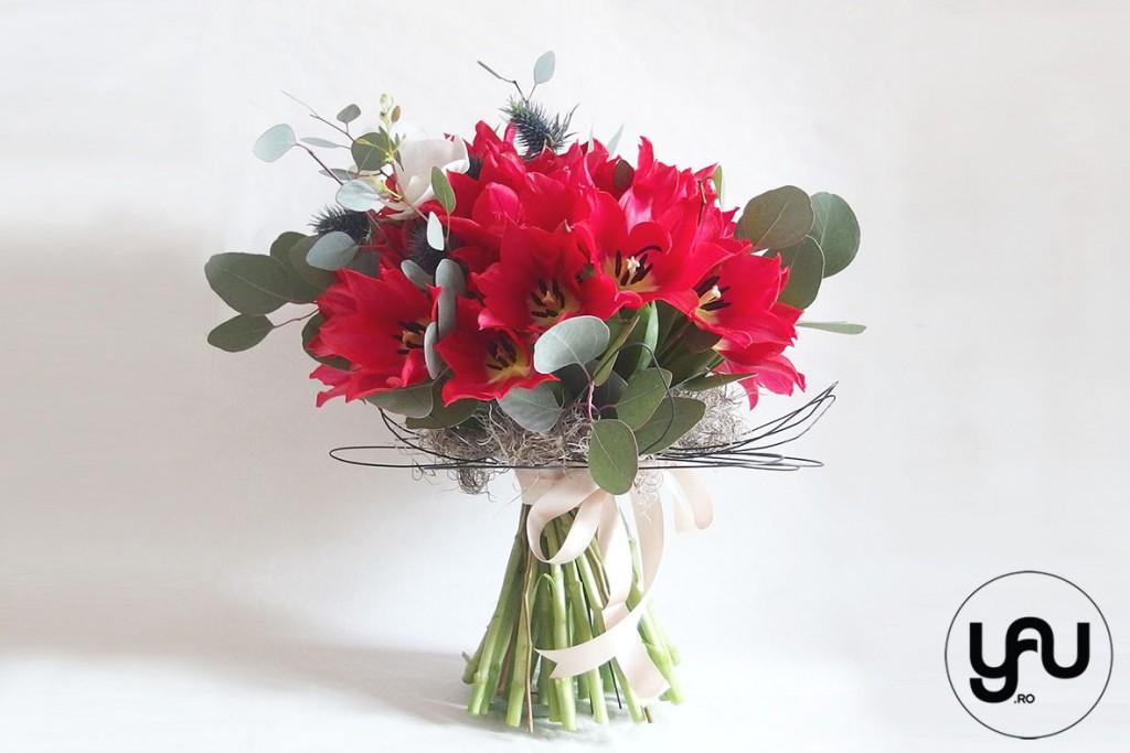 PRIMAVARA YaU Concept_buchet lalele rosii si orhidee alba (1)