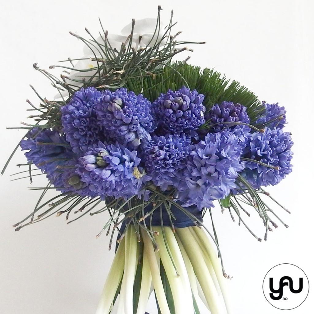 flori martie, buchet cu ZAMBILE ALBASTRE _ buchet 8 martie_buchet zambile #yau #yauconcept #elenatoader (3)
