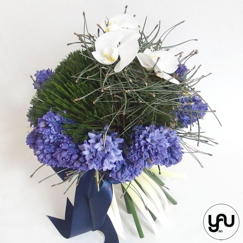 flori martie, buchet cu ZAMBILE ALBASTRE _ buchet 8 martie_buchet zambile #yau #yauconcept #elenatoader (4)