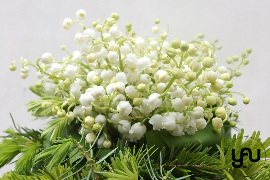 Buchet cu LACRAMIOARE si BRAD _ yau concept _ buchet mireasa _ elena toader _ wedding bouquet (1)