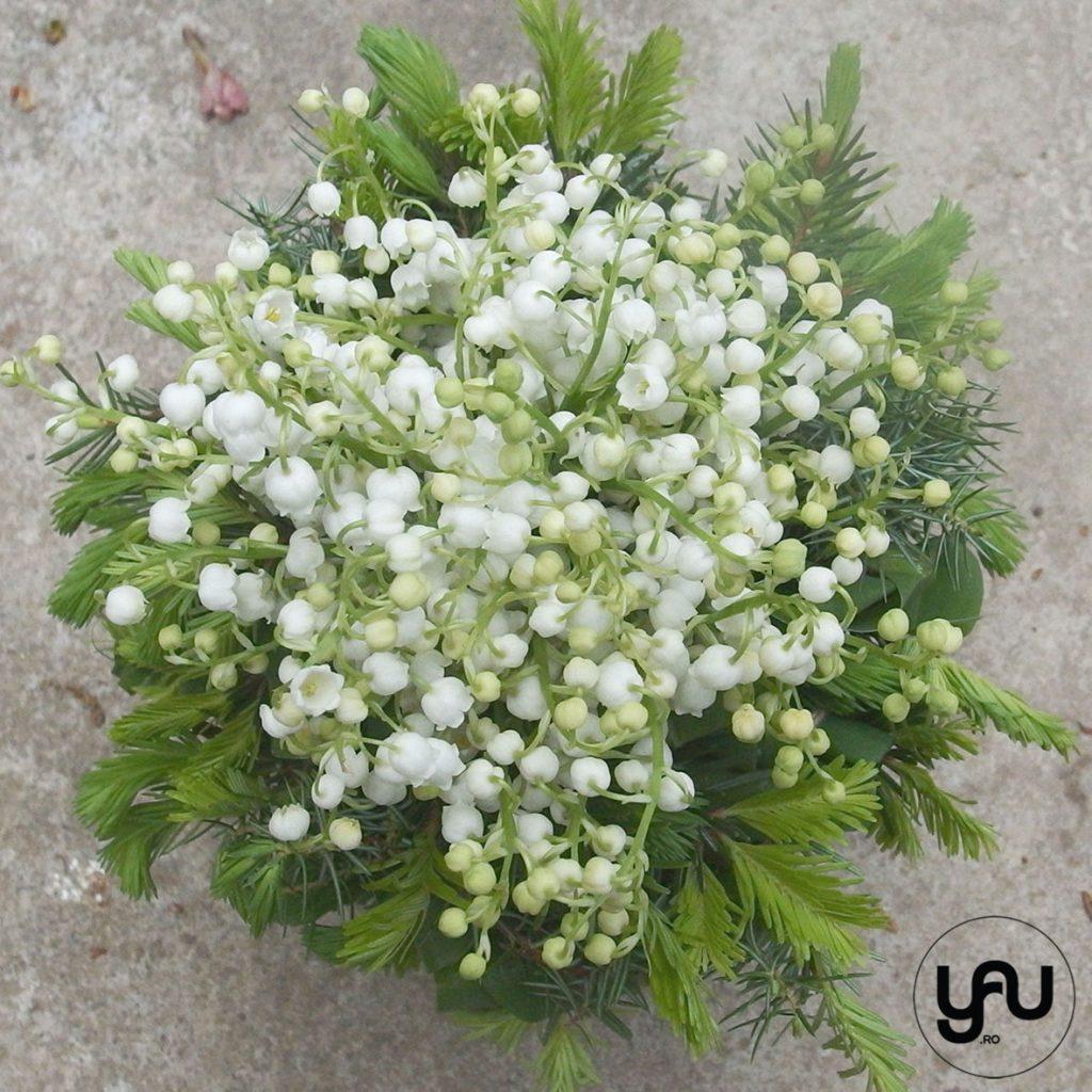 Buchet cu LACRAMIOARE si BRAD _ yau concept _ buchet mireasa _ elena toader _ wedding bouquet (3)