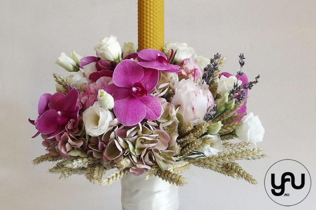 Lumanare De Botez Cu Orhidee Yau Concept Blog