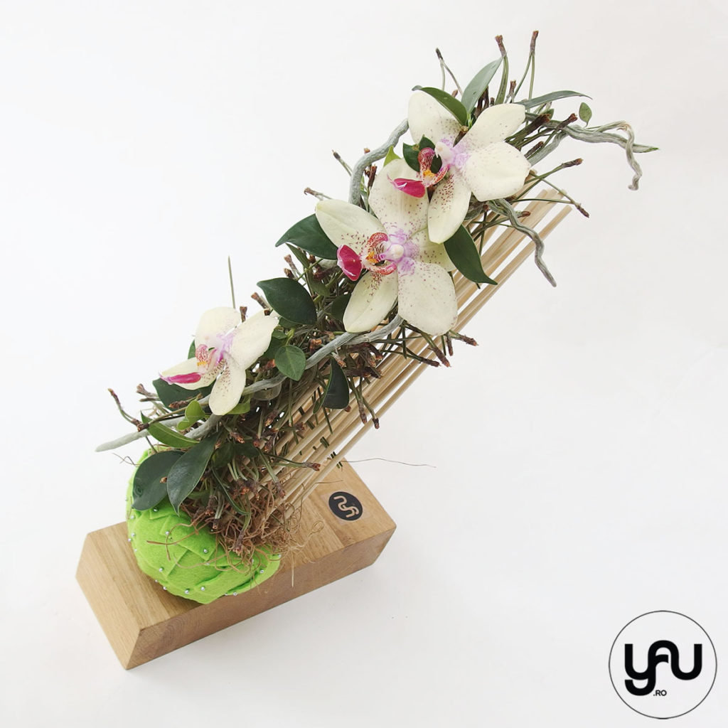 aranjament floral MARTIE, cu orhidee galbena _ yauconcept _ elenatoader (4)