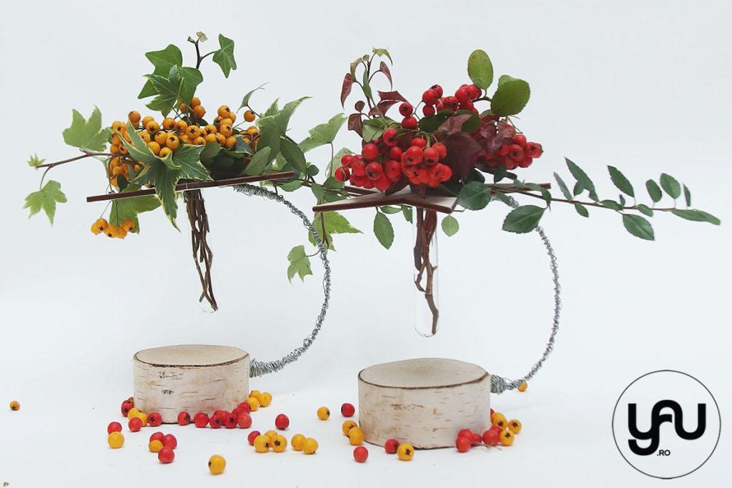 bobite colorate intr-un aranjament floral cu lemn _ yauconcept _ elenatoader (1)