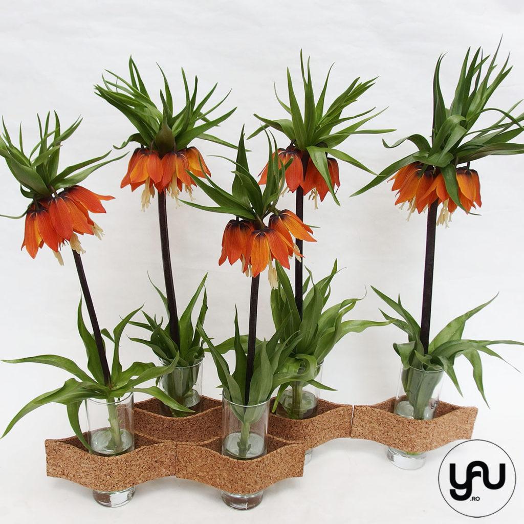 Floarea pastelui - 4 compozitii cu sticla si pluta _ yauconcept _ elenatoader