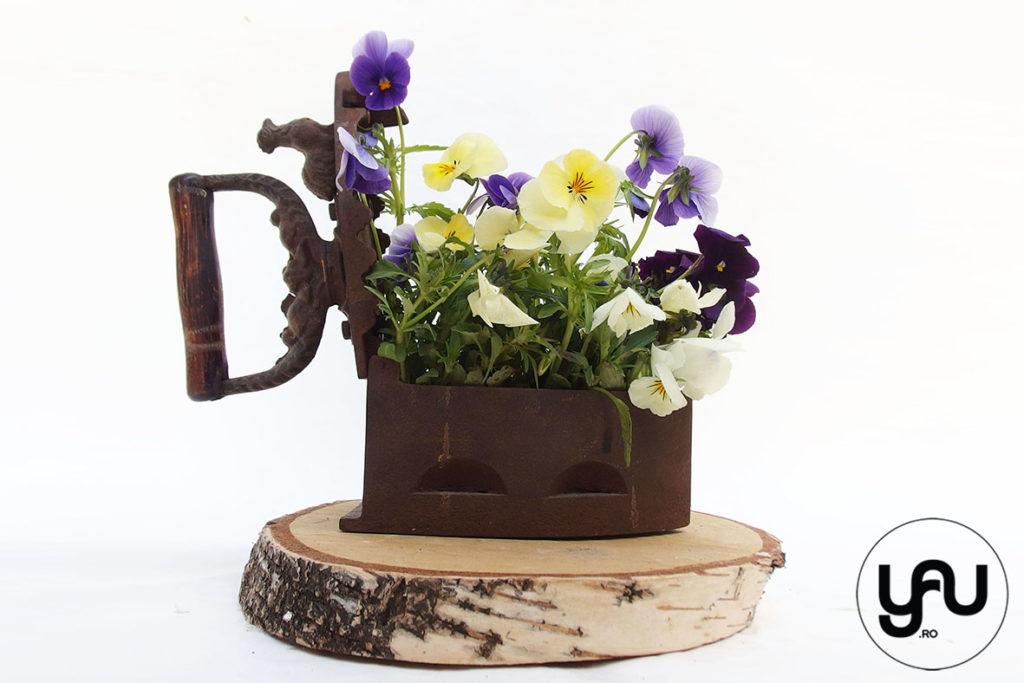 Panselute Intr Un Aranjament Floral Pentru Paste Yau Concept Blog