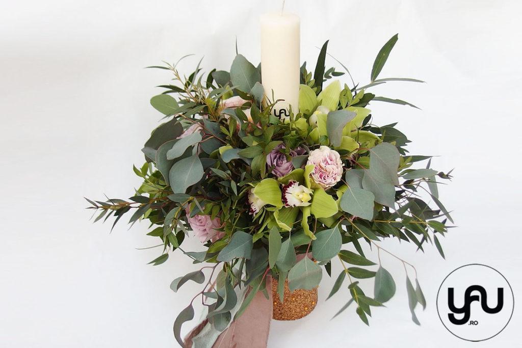 Lumanare Botez Verde Orhidee Si Trandafiri Yau Concept Blog
