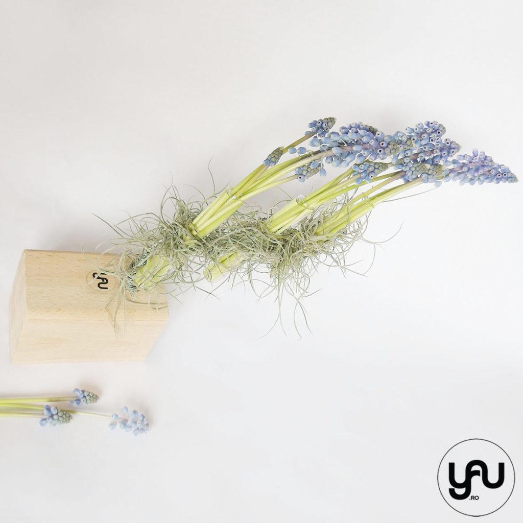 Aranjament floral MUSCARI YaU Spring 2019 YaU Concept Elena TOADER
