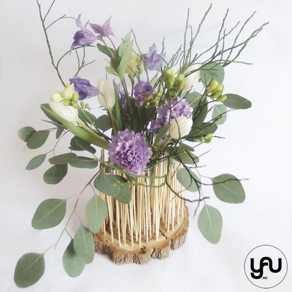 Flori albastre pentru PRIMAVARA YaU Concept Elena TOADER