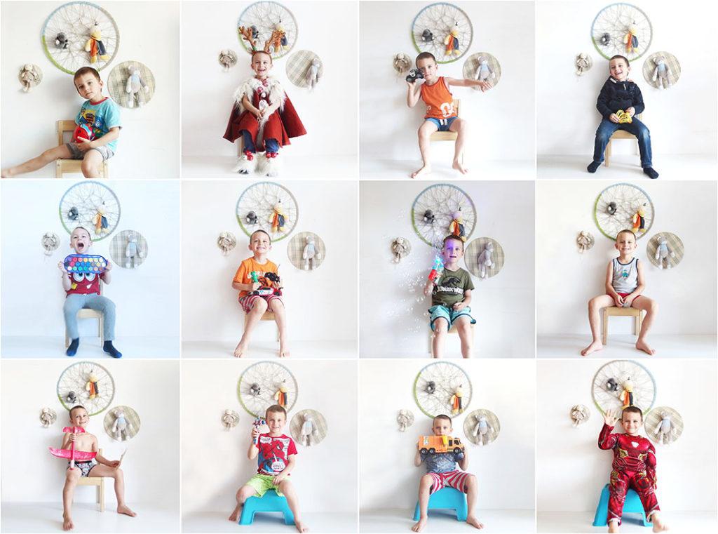 AMZA pe scaunel   5 ani yau.ro yau concept Elena Toader