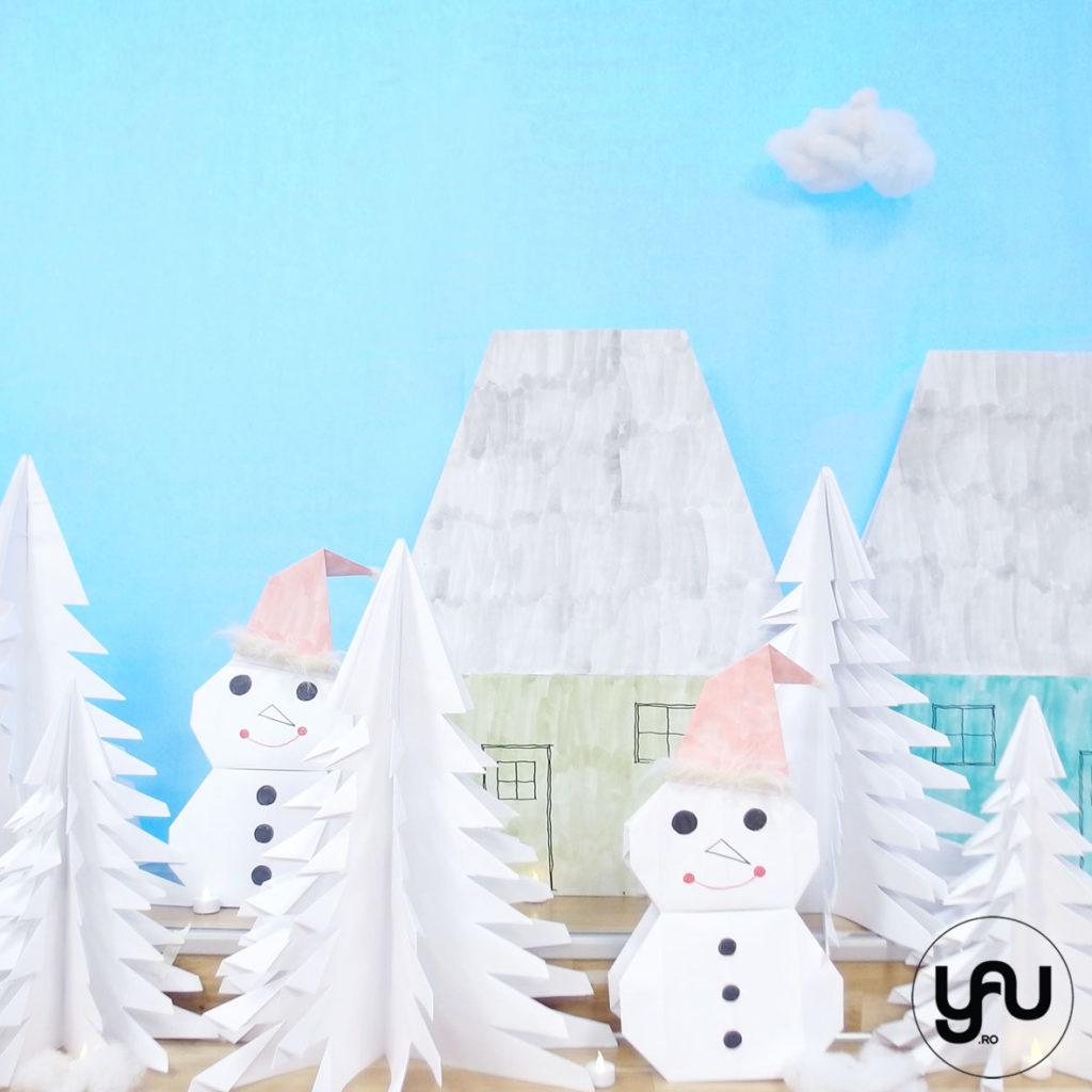 Iarna pe ulita, cu Mos Craciun yau.ro yau concept elena toader