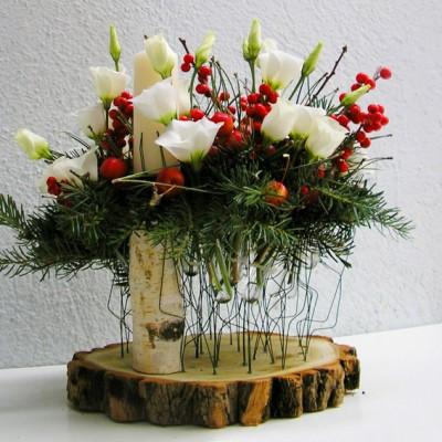 yau flori_aranjament special pentru Craciun
