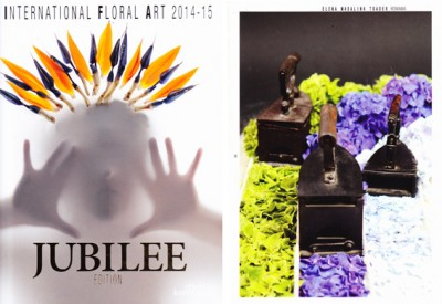 YaU flori _ cursa fiarelor de calcat publicata in internationa floral art 14-15, floral design elena madalina toader, foto sebastian moise