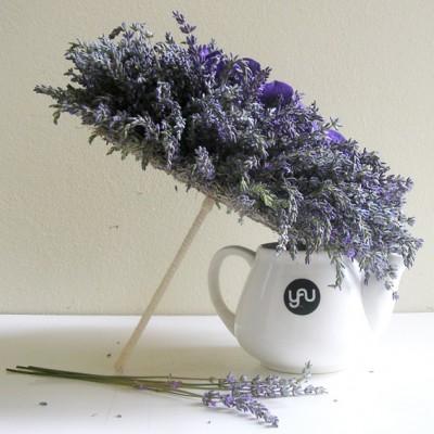 yau flori+yau evenimente_buchet de mireasa cu lavanda proaspata