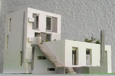 yau arhitectura_macheta casa cu proportiile de aur 2012