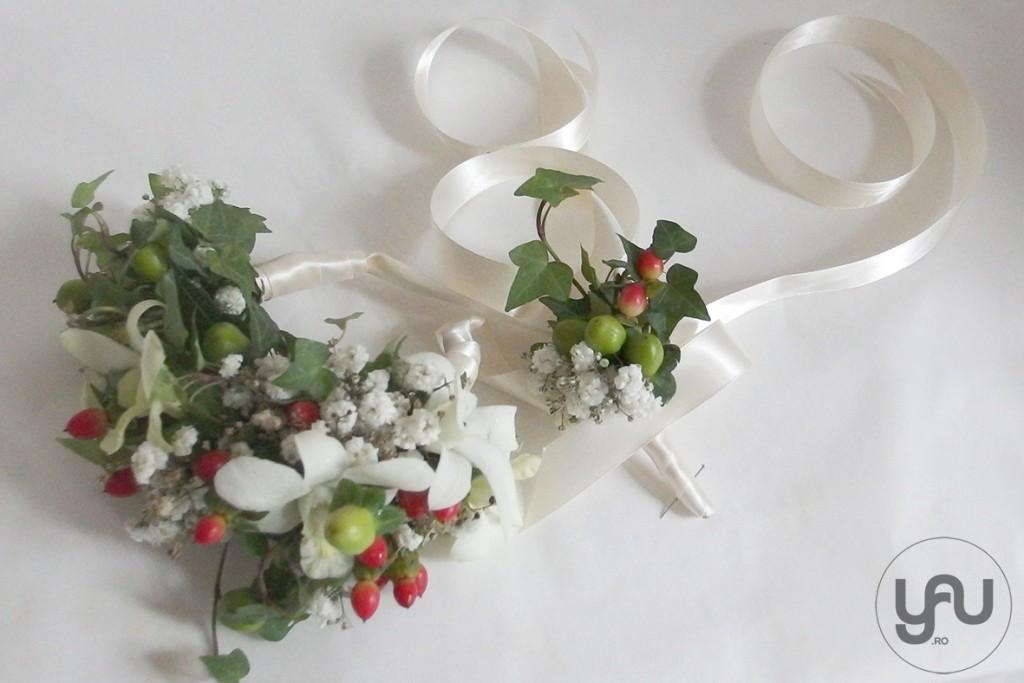 yau concept_yau flowers_yau events_bratara din flori naturale