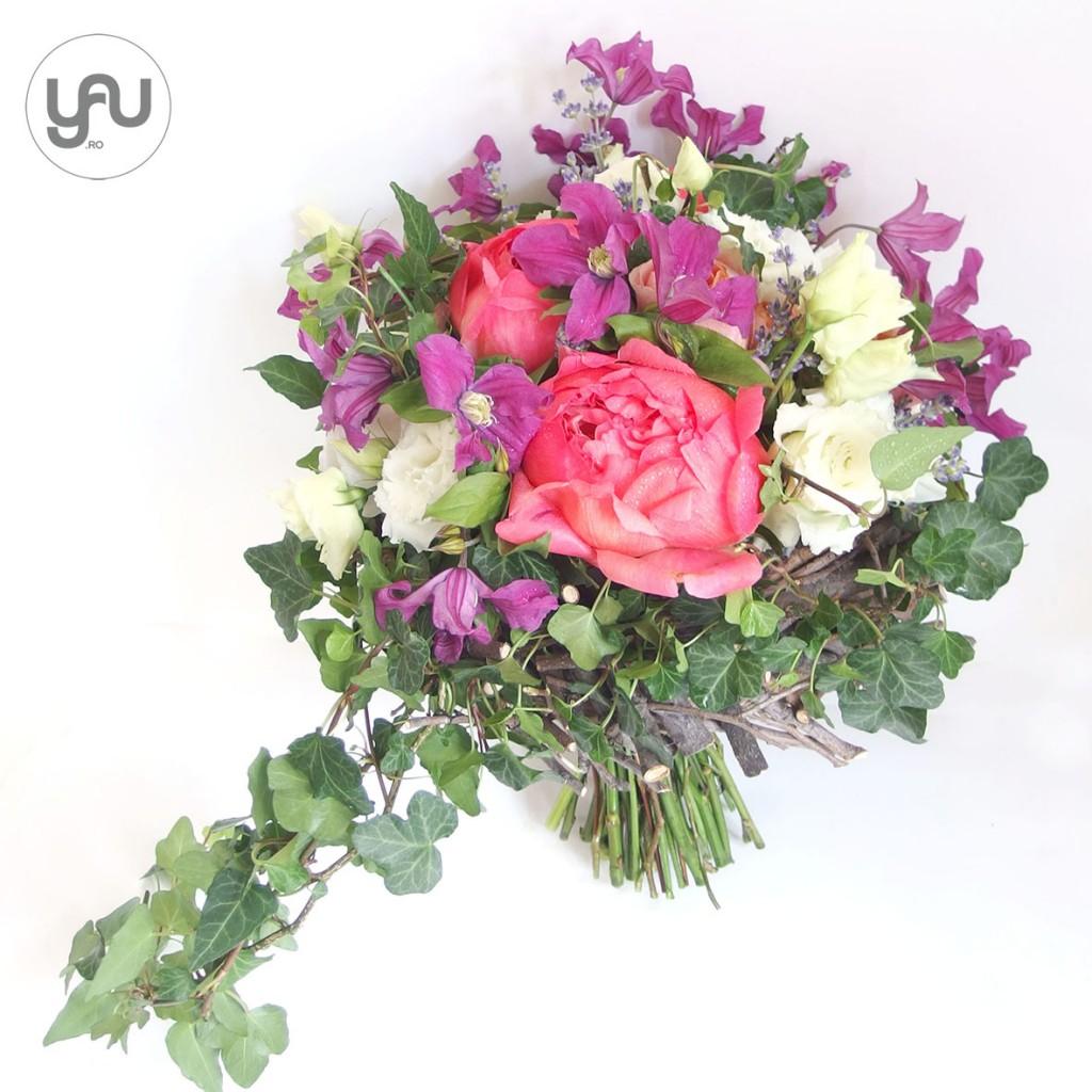 yau concept_yau flowers_yau events_wedding bouquet with clematis