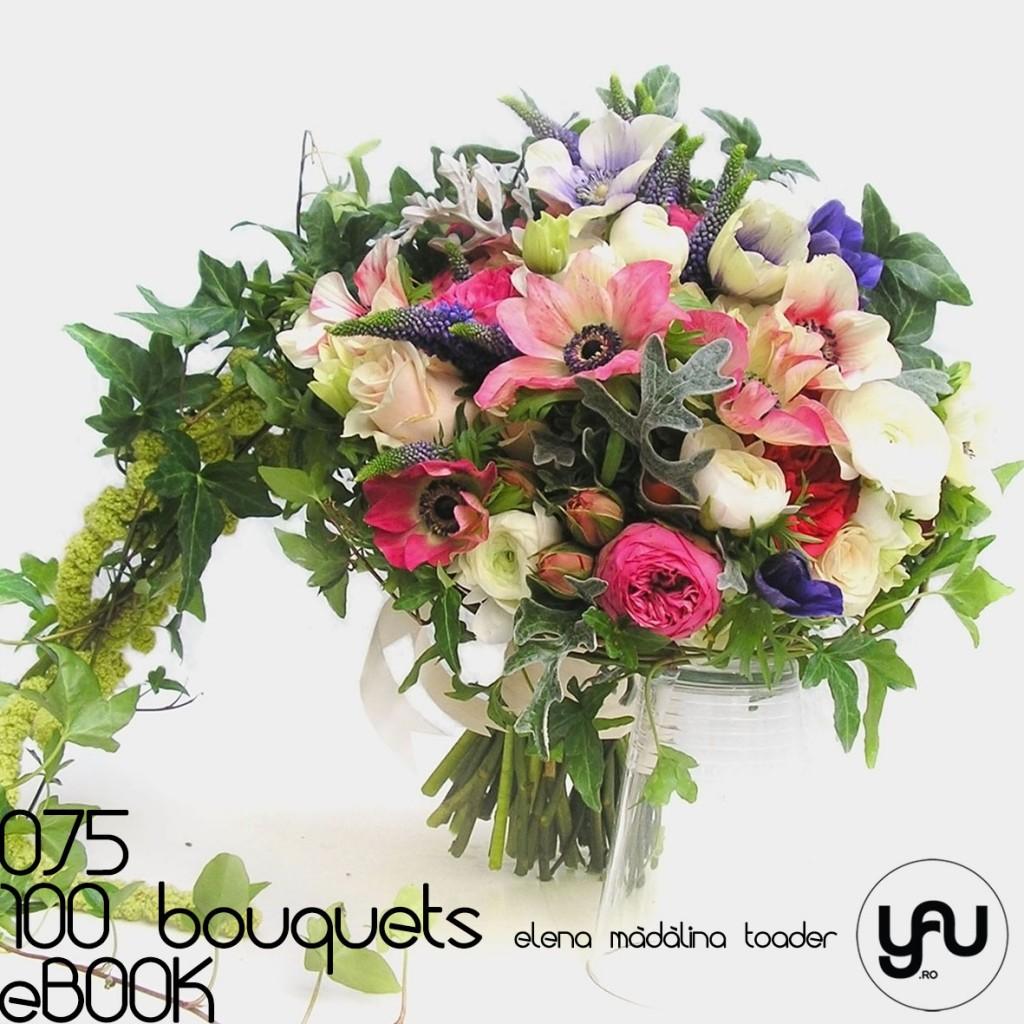 ANEMONE si RANUNCULUS #100bouquets #ebook #yauconcept #elenamadalinatoader