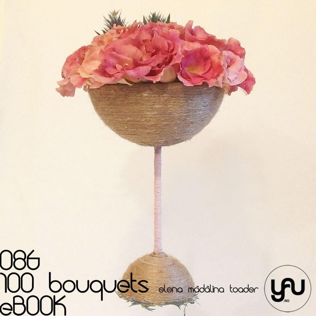 LISIANTHUS si ERYNGIUM #100bouquets #ebook #yauconcept #elenamadalinatoader