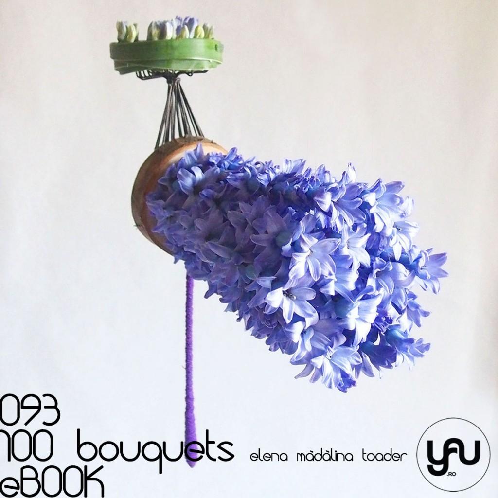 Buchet cu ZAMBILE albastre #100bouquets #ebook #yauconcept #elenamadalinatoader
