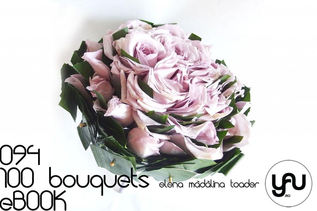 Buchet COMPOZIT cu trandafiri lila #100bouquets #ebook #yauconcept #elenamadalinatoader
