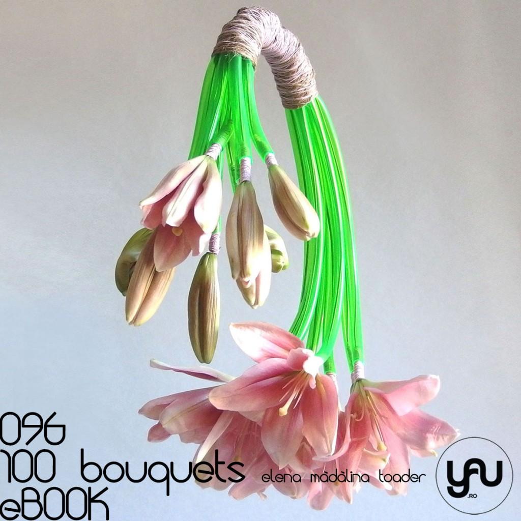 Buchet cu CRINI piersica #100bouquets #ebook #yauconcept #elenamadalinatoader
