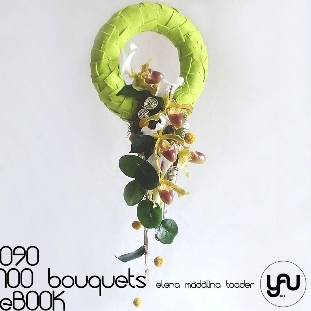 Orhidee PAPHIOPEDLIUM #100bouquets #ebook #yauconcept #elenamadalinatoader