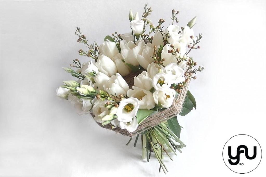 MARTIE yau concept_buchet pentru martie #yau #primavara #martie #lalele #lisianthus #wax (1)