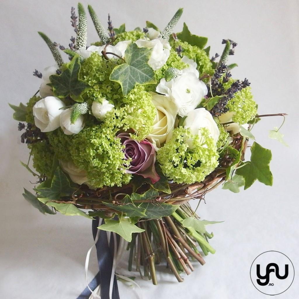 Buchet mireasa primavara_yauconcept_elena toader_buchet cu ranunculus, viburnum si trandafiri (3)