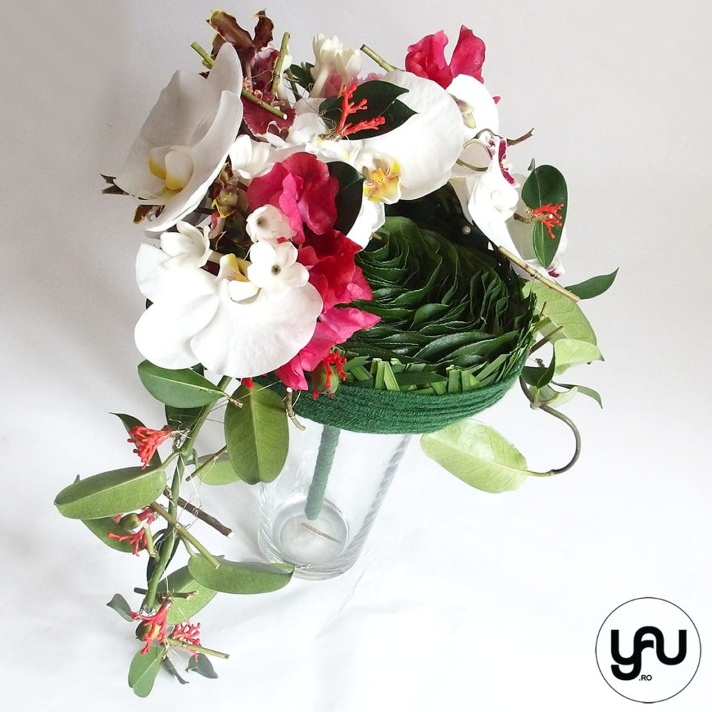 Buchet de mireasa cu orhidee, bujori si lathyrus _ yau concept _ elena toader (4)