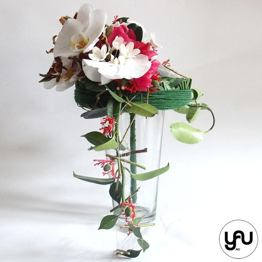 Buchet de mireasa cu orhidee, bujori si lathyrus _ yau concept _ elena toader (5)