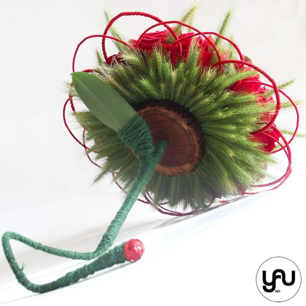 buchet de mireasa cu maci, trandafiri si grau _ yau concept _ elena toader (3)