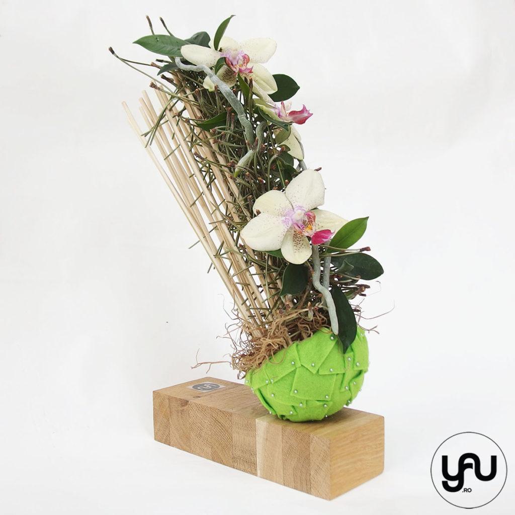 aranjament floral MARTIE, cu orhidee galbena _ yauconcept _ elenatoader (5)