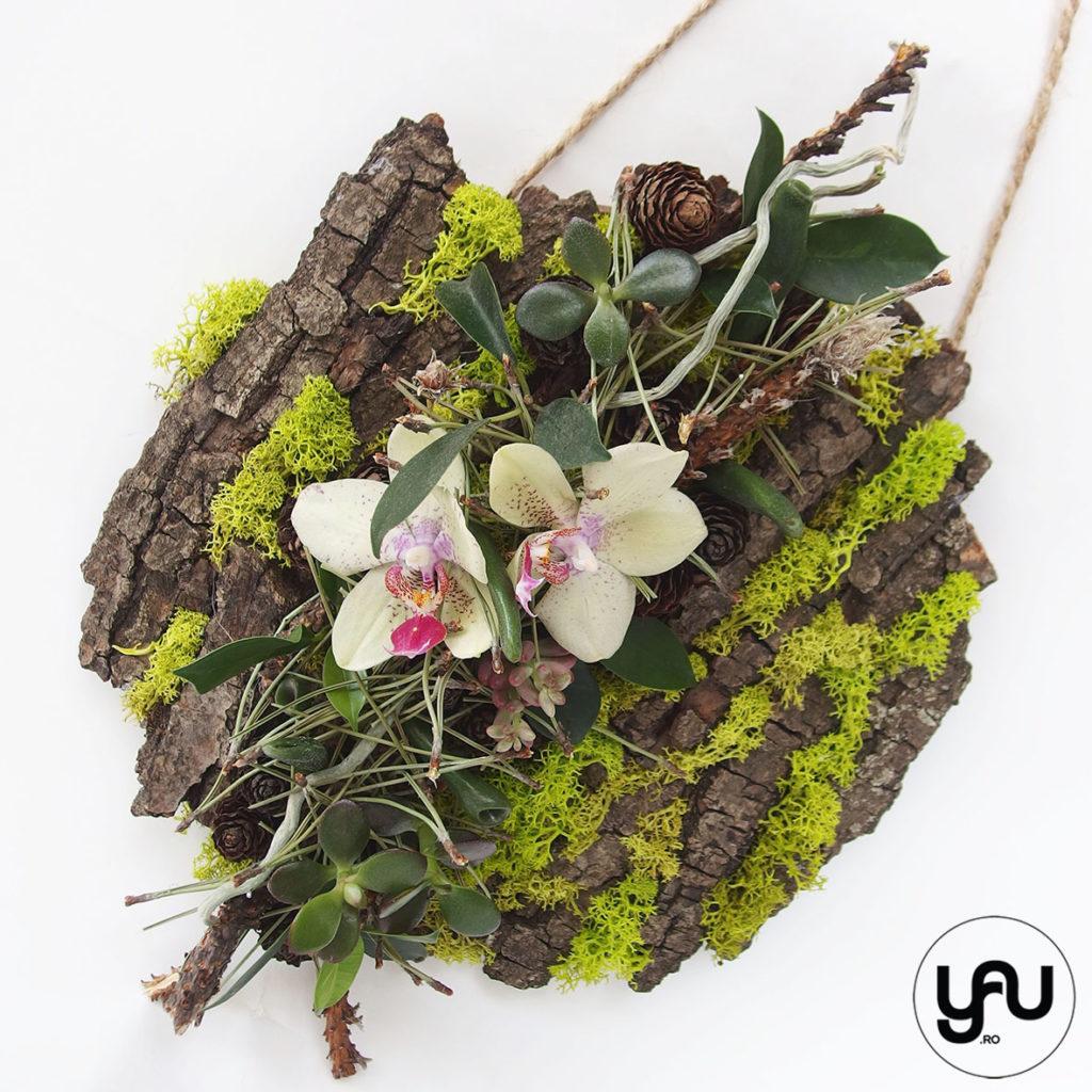decor floral IARNA _ tablou verde cu orhidee _ yauconcept _ elenatoader (2)