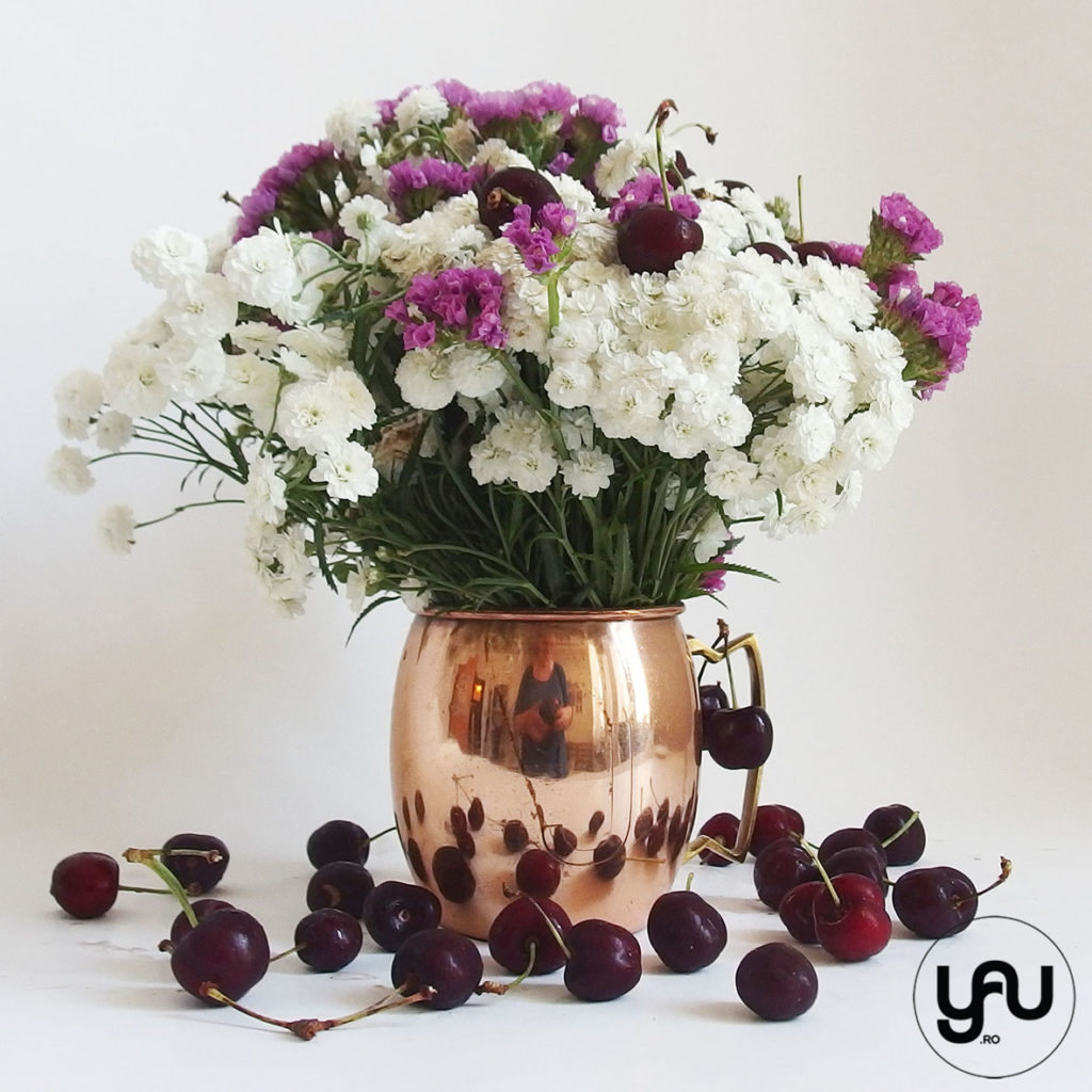 Flori si cirese YaUconcept ElenaTOADER