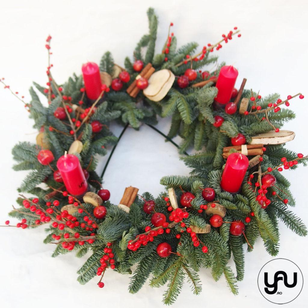 Aranjament floral CRACIUN | ADVENT YaUconcept ElenaTOADER