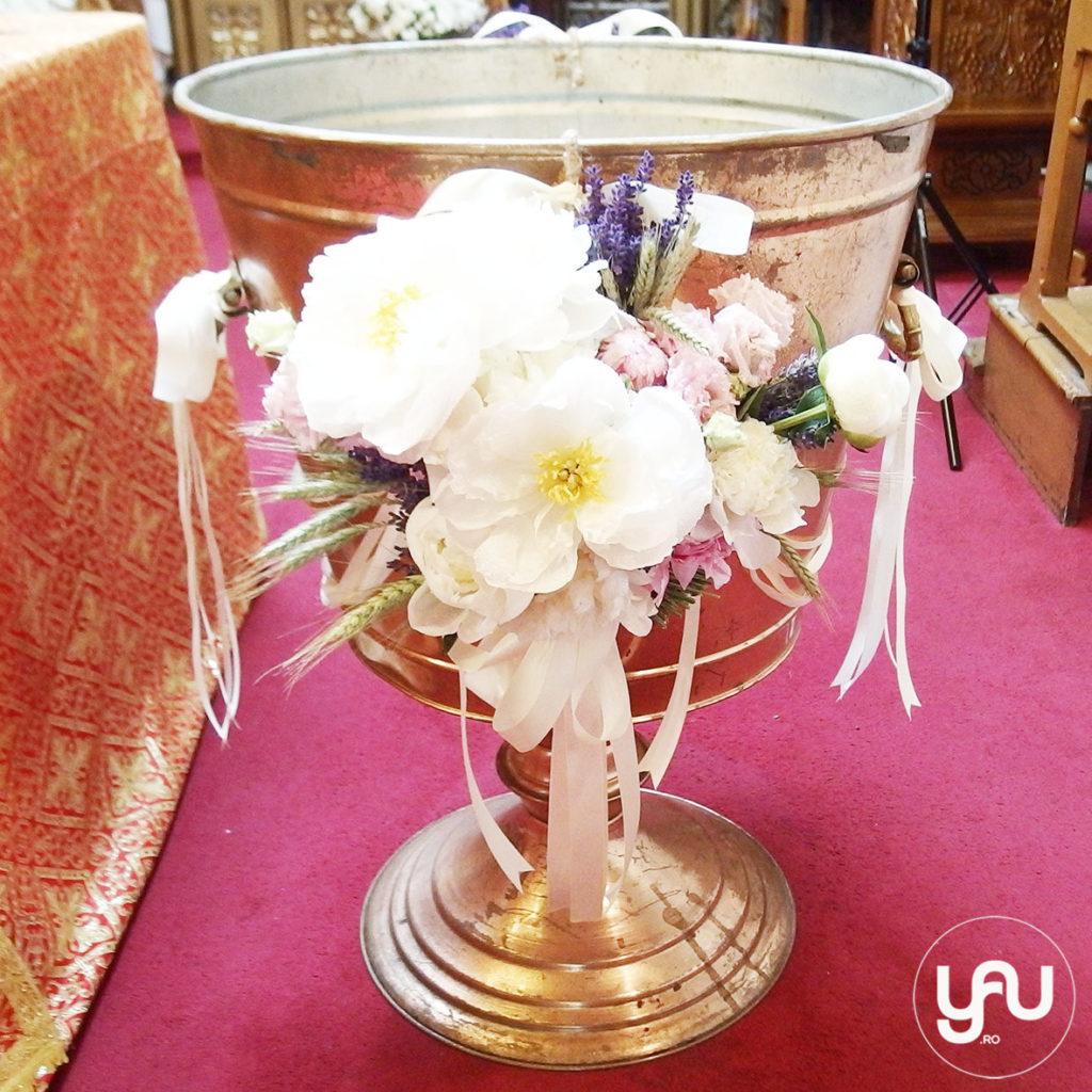 Christening flowers must be beautiful YaUconcept ElenaTOADER