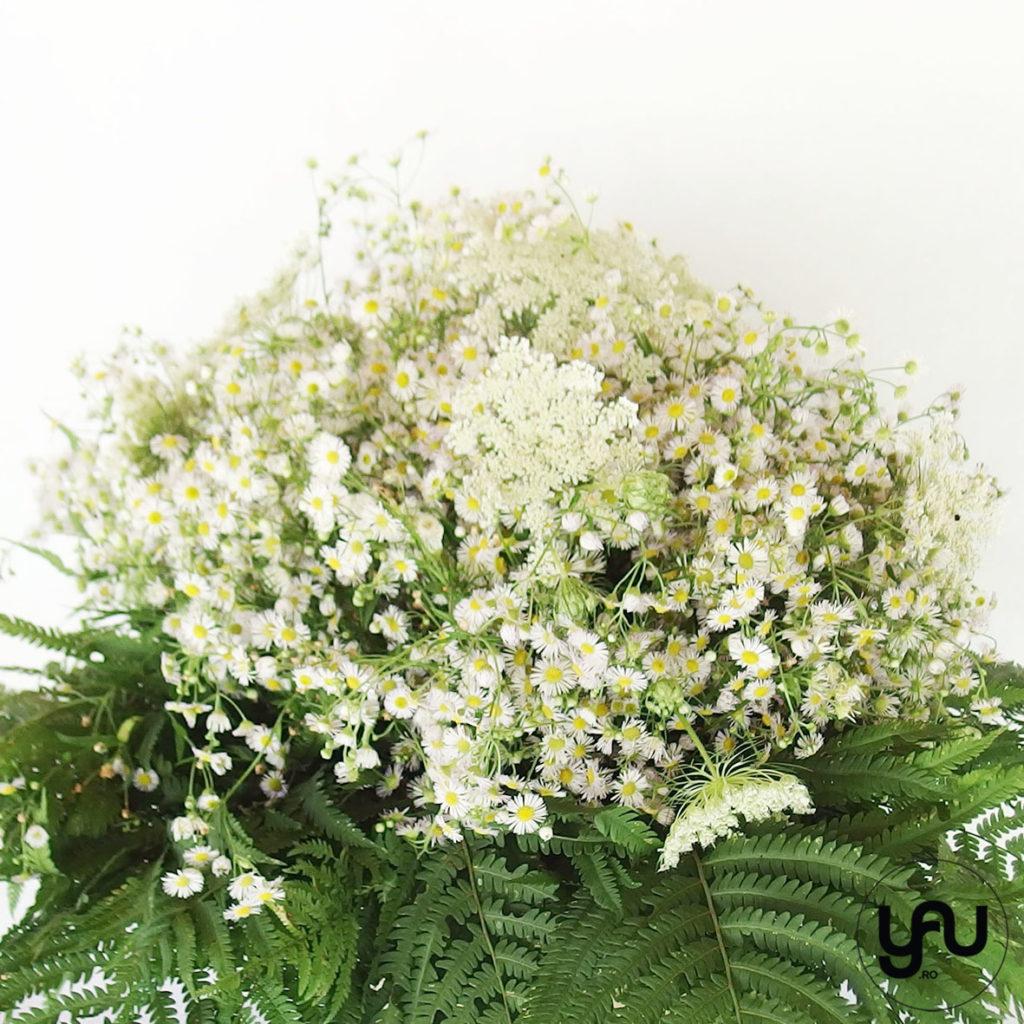White and Green bouquet YaUconcept ElenaTOADER