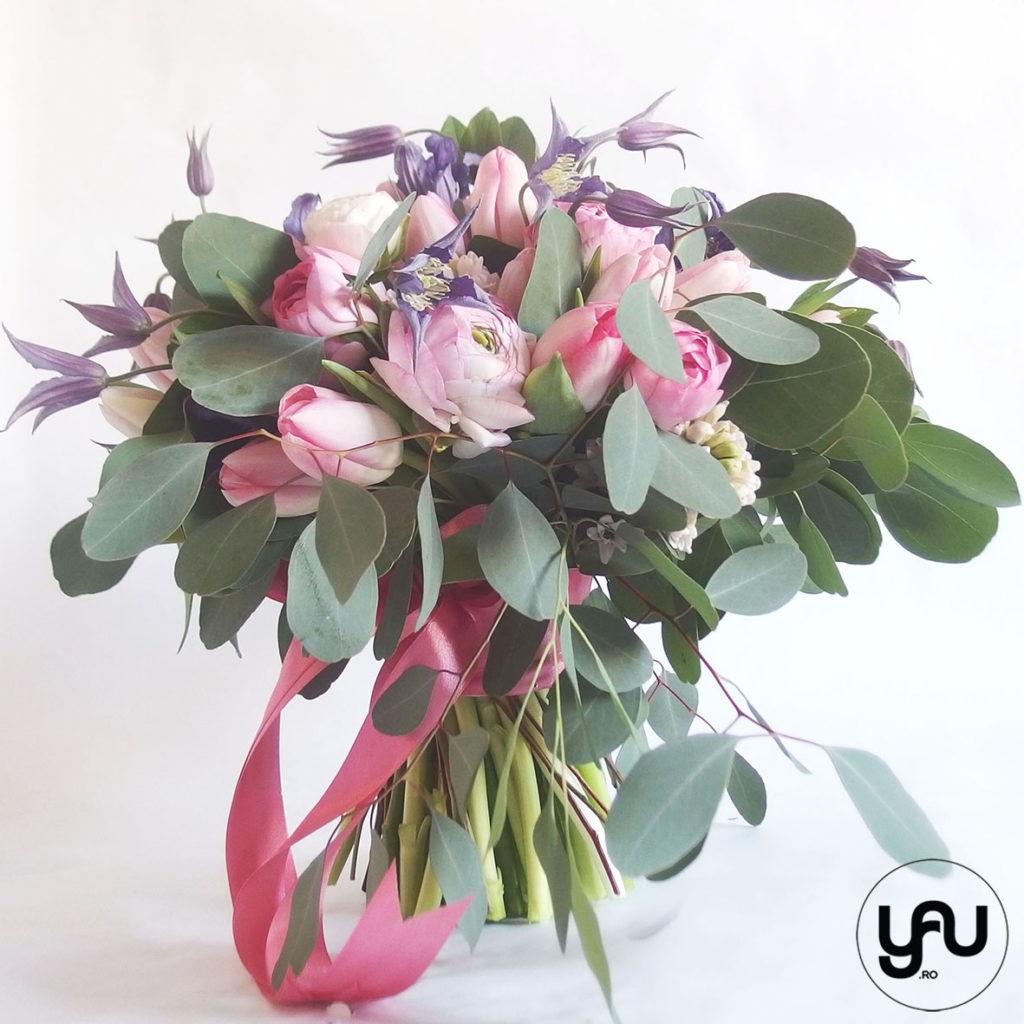 Ranunculus si Lalele pentru PRIMAVARA Buchet ranunculus lalele clematis YaUconcept ElenaTOADER