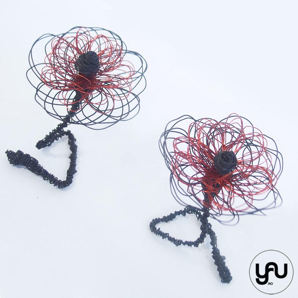 Wire LOVE Flori din sarma YaU Concept Elena TOADER