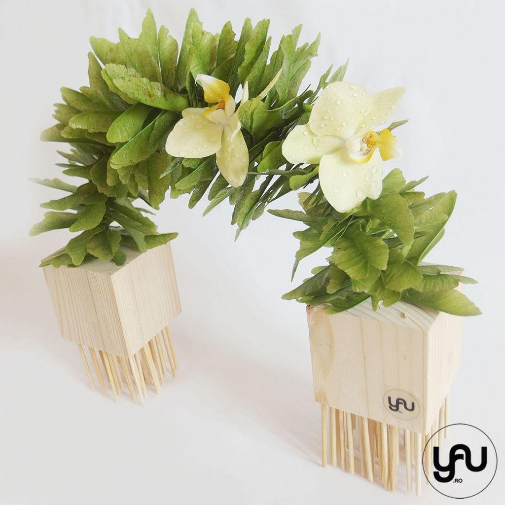 Aranjament cu orhidee YaU Concept Elena TOADER