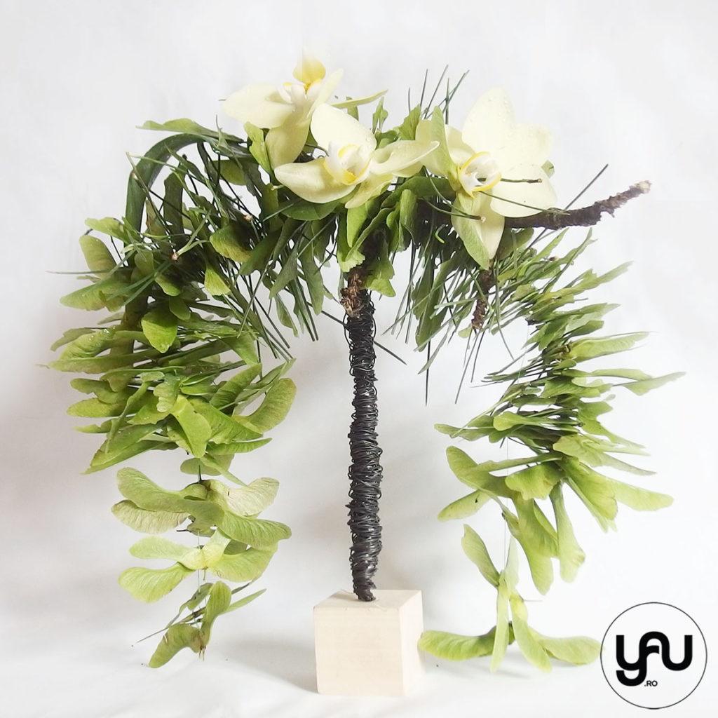 Buchet mireasa orhidee VERDE YaU Concept Elena TOADER